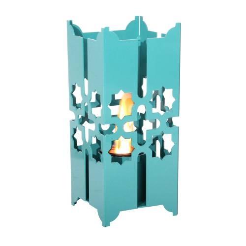 Temara 15 inch Lantern by Terra Flame Home