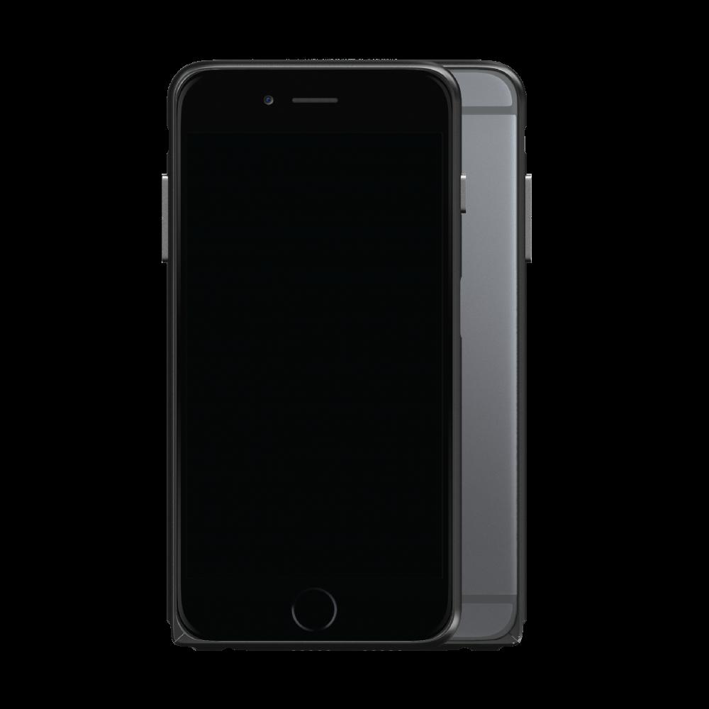 Slim Aerospace Aluminum Bumper for iPhone 6s, Black