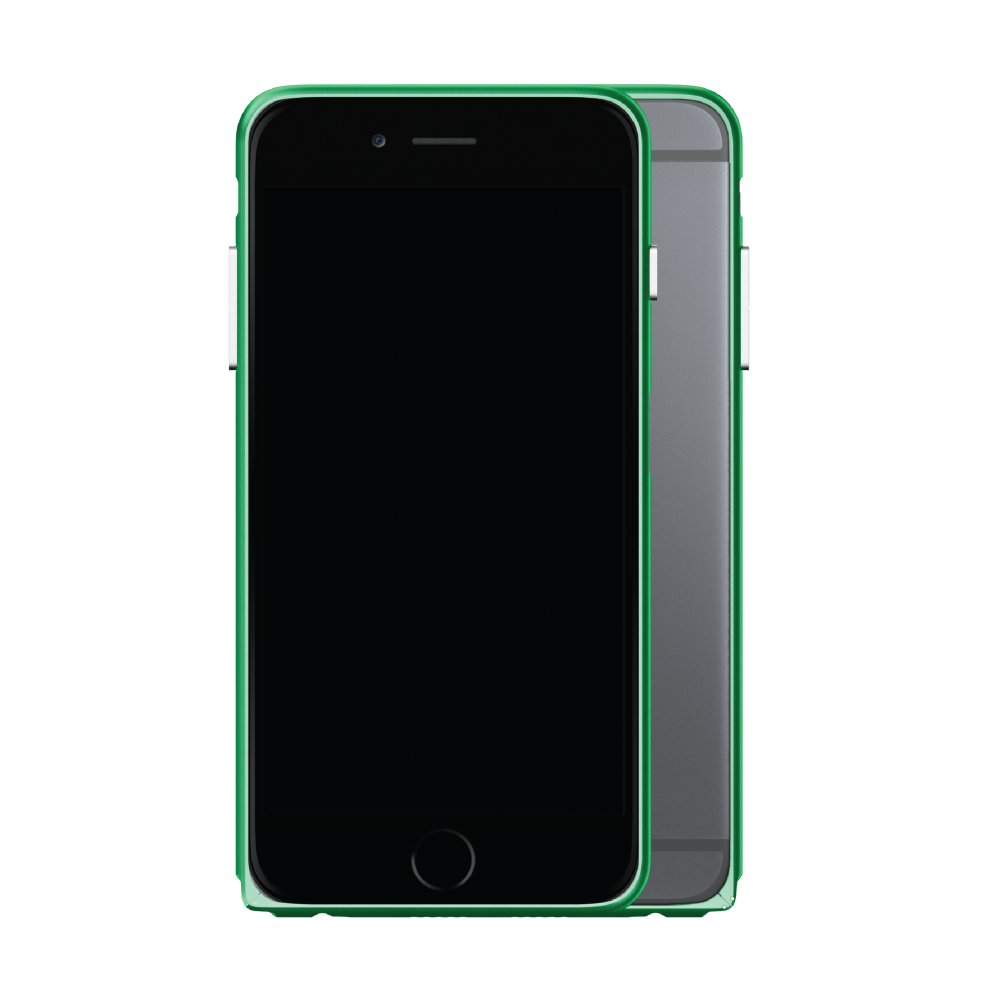 Slim Aerospace Aluminum Bumper for iPhone 6s, Believer Green