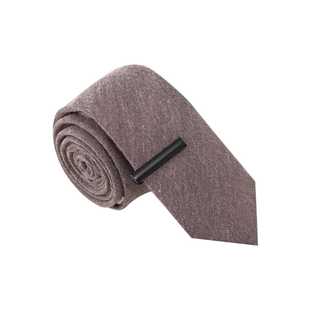 Choir Boy Grey Tie with Tie Clip