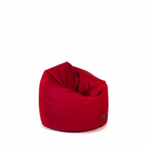 BASTILLE Red   Lazy Life Paris   Pear-shaped bag for indoor