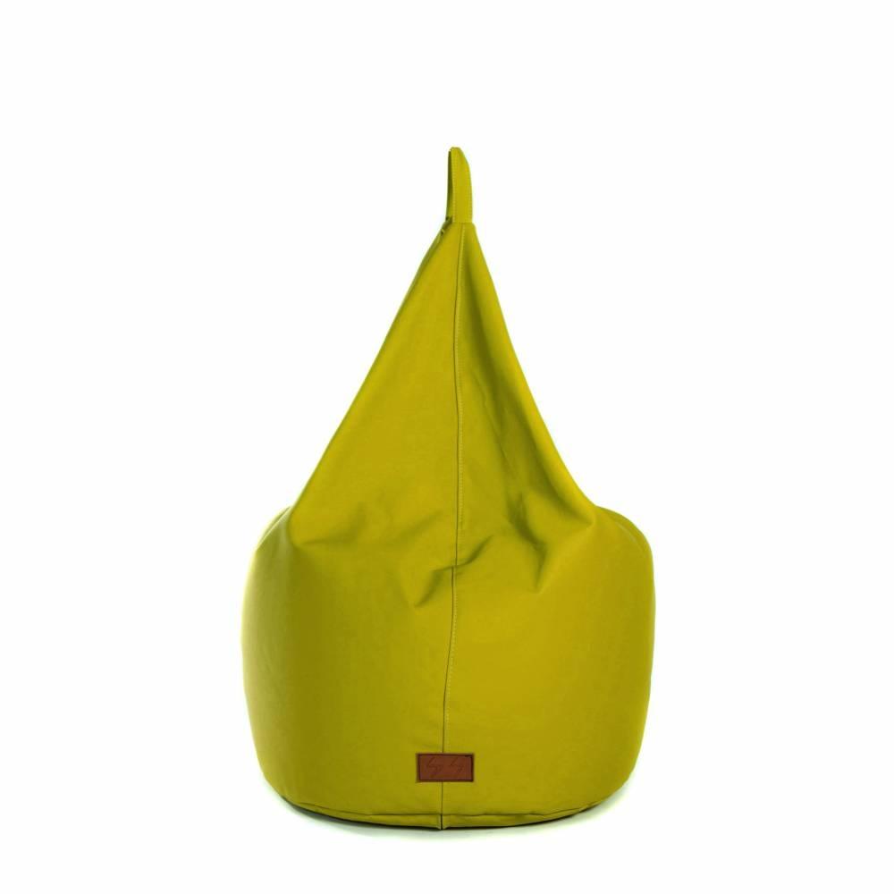 BASTILLE Lime Green | Lazy Life Paris | Pear-shaped bag