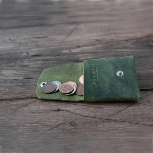 Green Snap Coin Case - Grams28