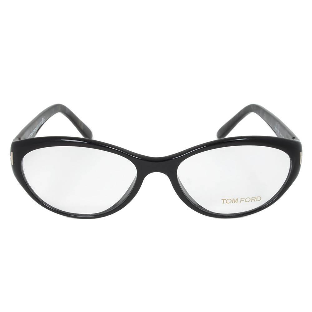 Black/Glitter Gray Eyeglasses Frame, Size 54