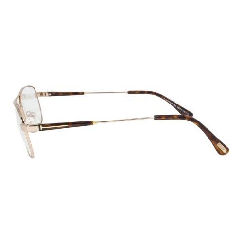 Rose Gold Eyeglasses Frame   Size 56