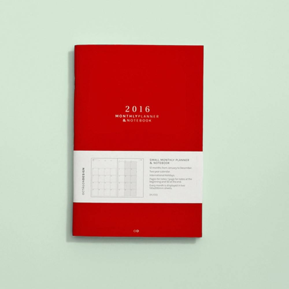 Small Monthly Planner | Octagon Design