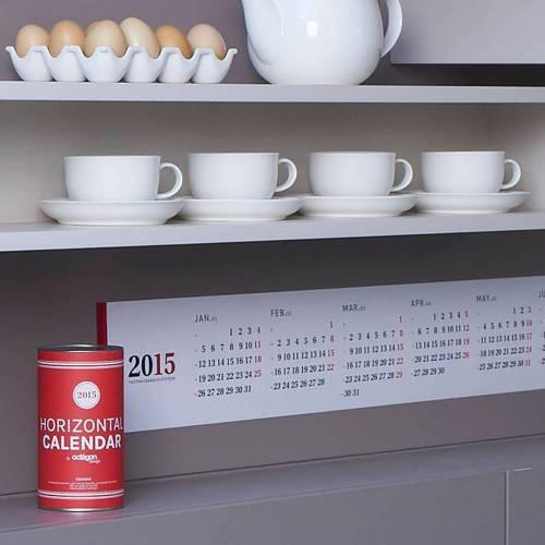 Horizontal calendar   Octagon Design