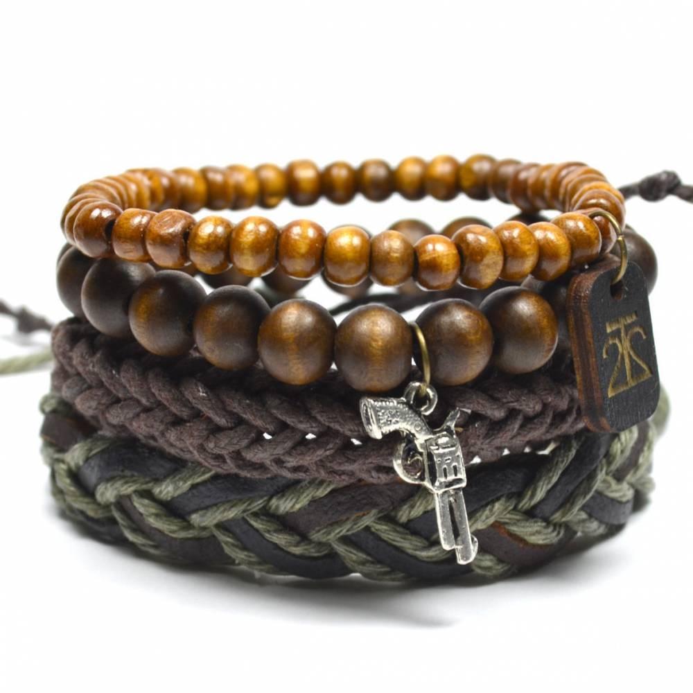 Tag Twenty Two   4 Pack Army Bracelet