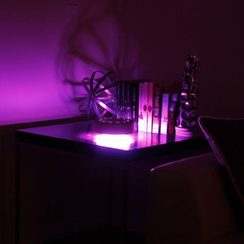 Cfab | Black shh3-lite color changing lamp