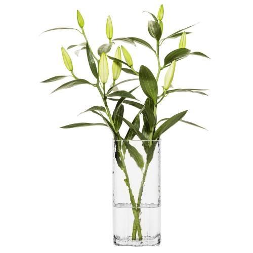 Clear Siluett Tall Vase   Sagaform