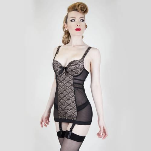 Brigitte Garter Dress