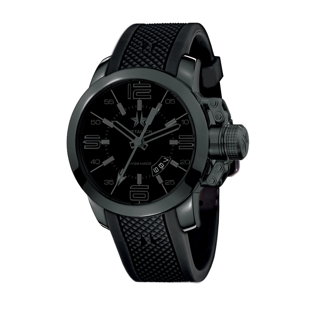 Metal CH Watch | Initial 1420