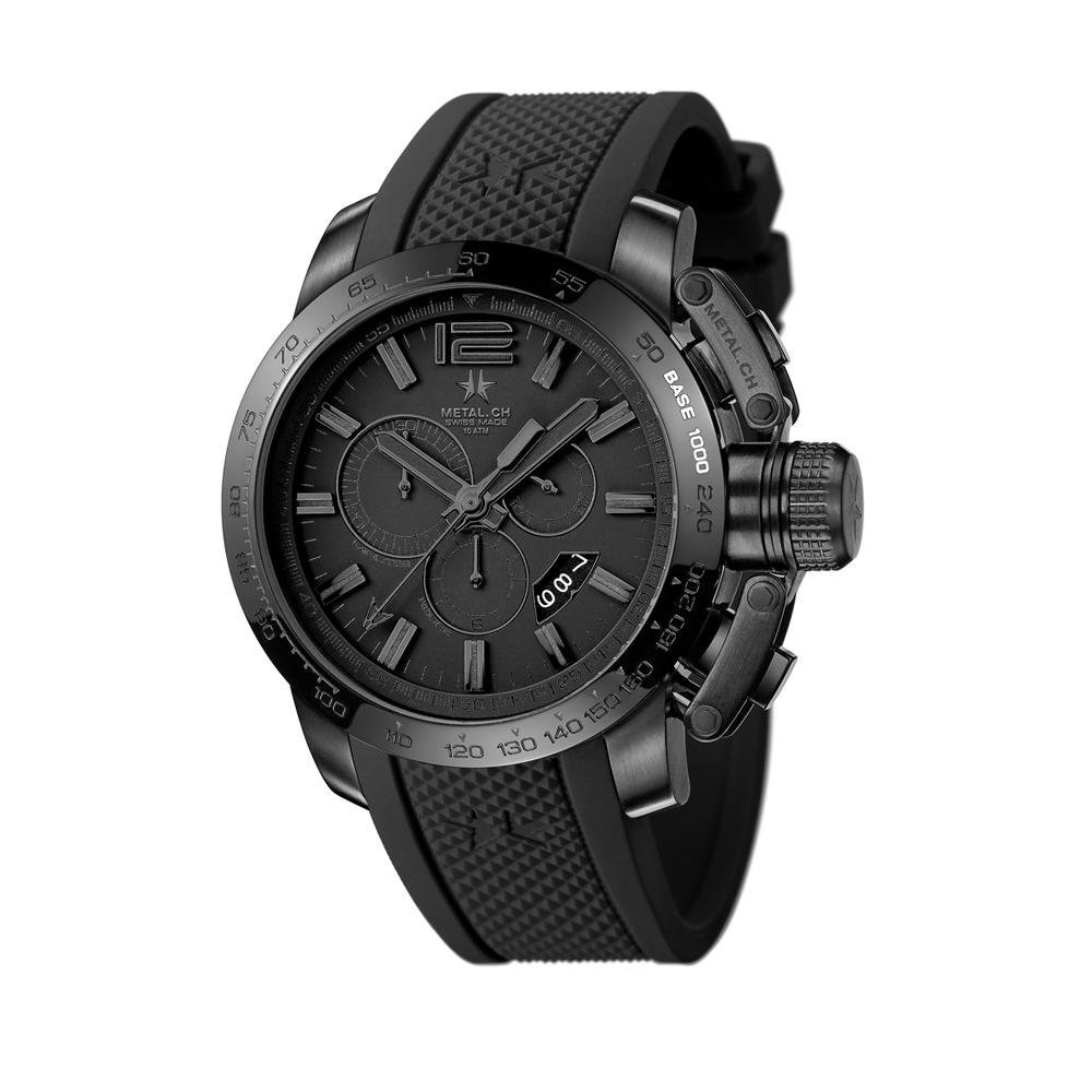 Metal CH Watch | Chronosport 4420