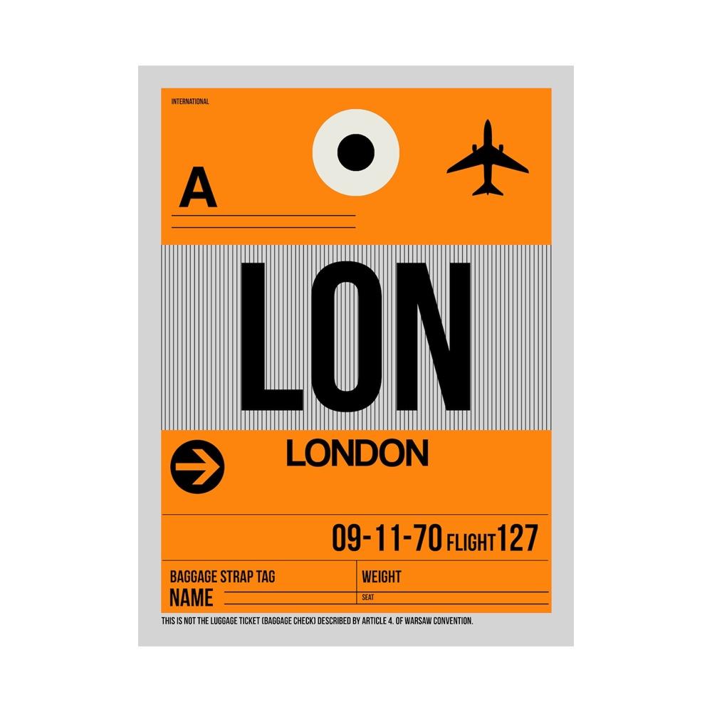 NaxArt   LON London Poster