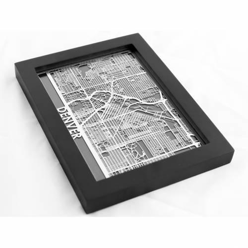 Denver | Cut Maps