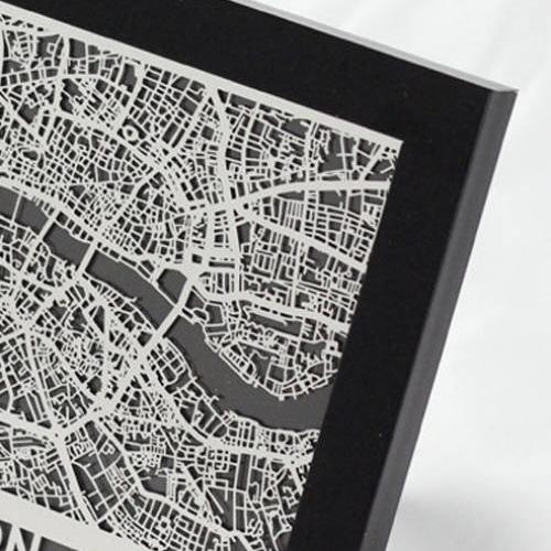 London | Cut Maps