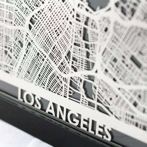 Los Angeles   Cut Maps