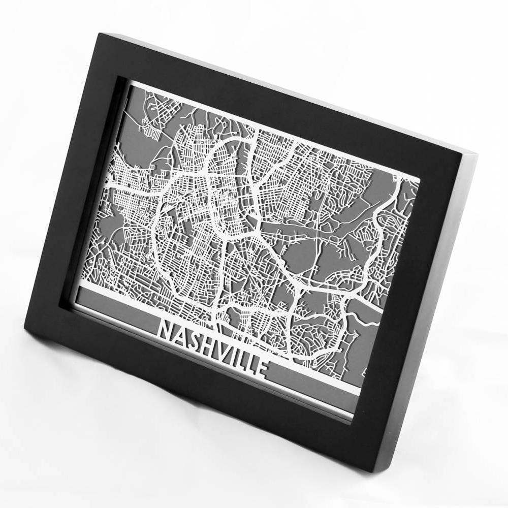 Nashville | Cut Maps