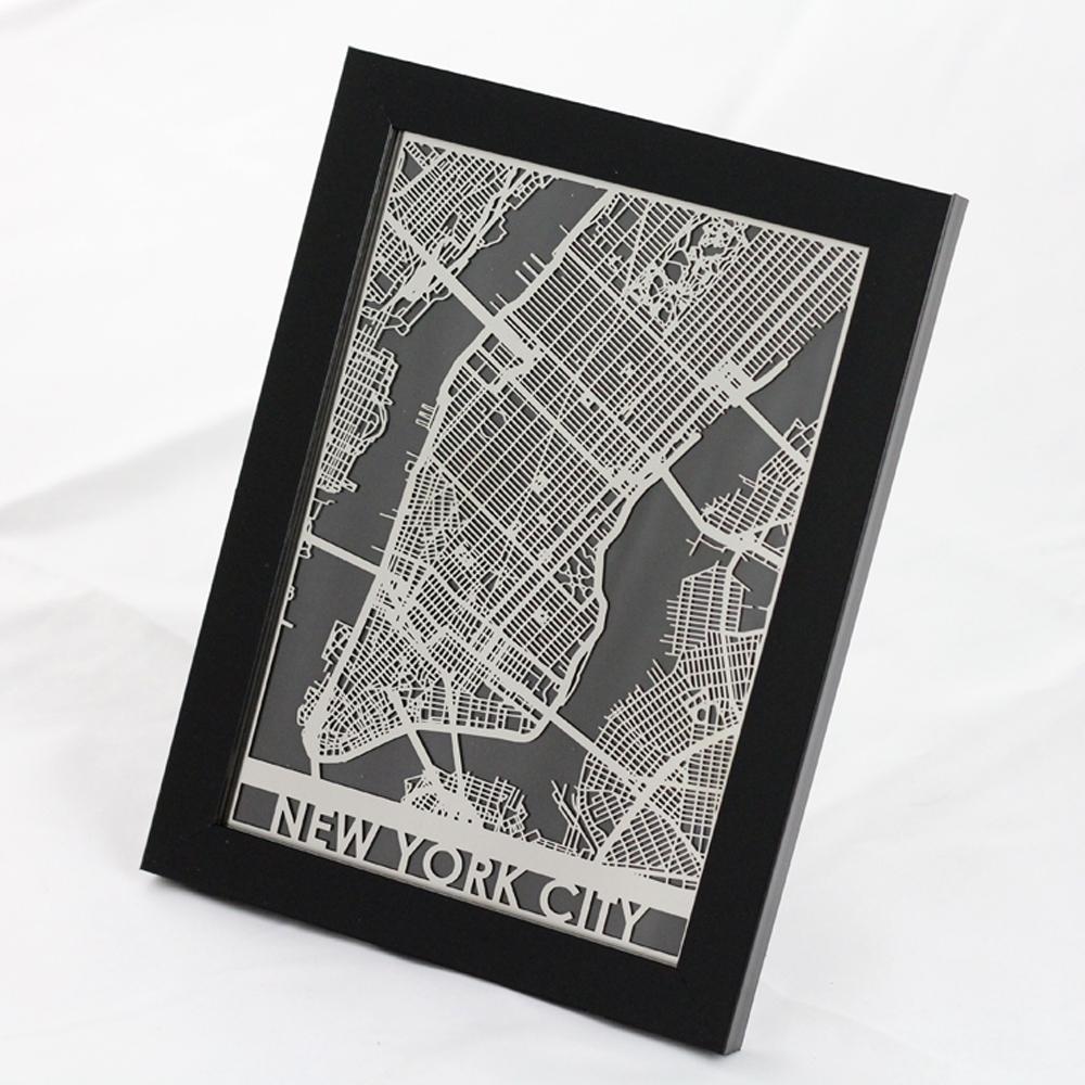 New York City | Cut Maps