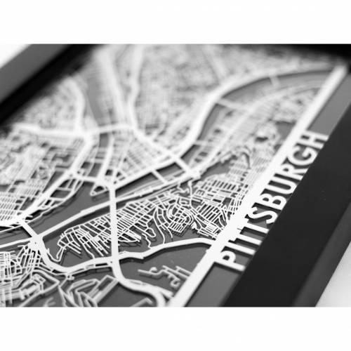 Pittsburgh   Cut Maps