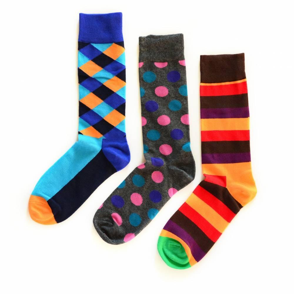 Michael 3-Pack | Happy Socks