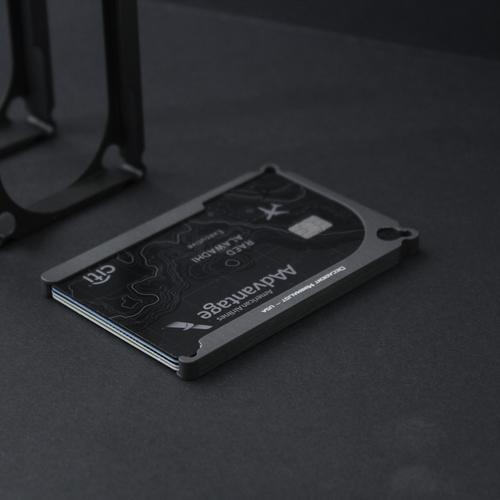 DM1: 4-Card Aluminum Wallet