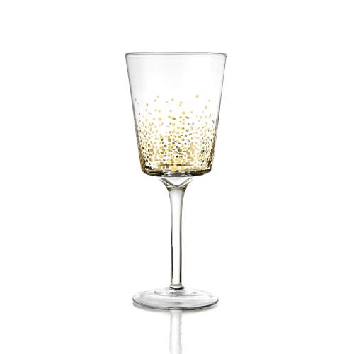 Gold Luster Wine | Set of 4