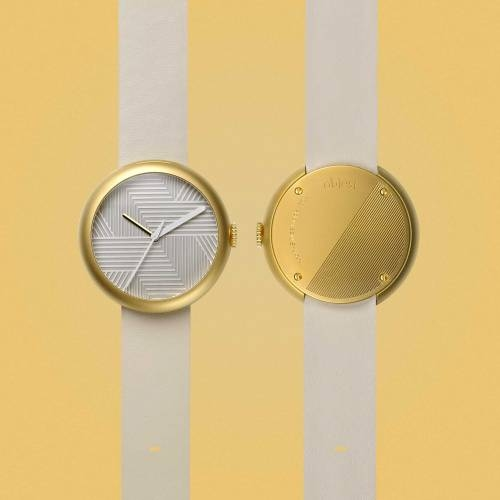 Gold/Nude Hach | Objest Watches