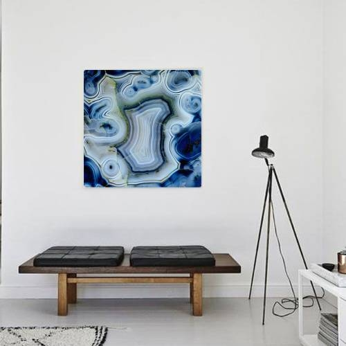 Blue Wonder Canvas Print | Vivienne East