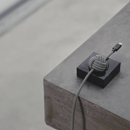 Marble Luxury Night Cable | Native Union | Lightning (Apple)