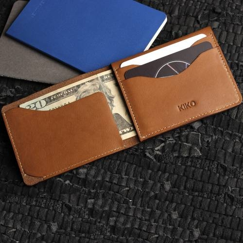 Simplistic Leather Wallet | Kiko Leather