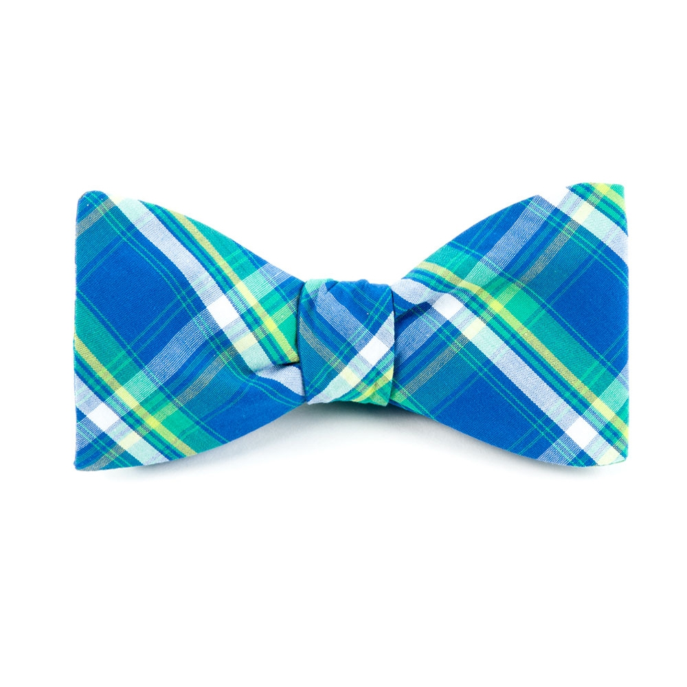 Sunset Plaid Bow Tie   The Tie Bar