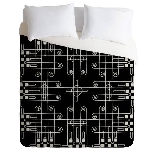 Budi Kwan Nouveau Monochrome Duvet Cover