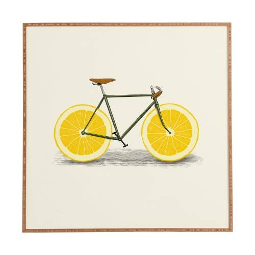 Zest 1 Florent Bodart Framed Wall Art | Deny Designs