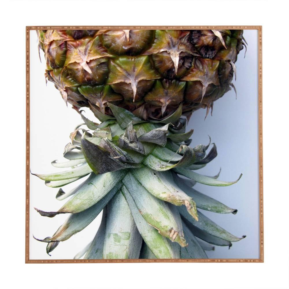 Pineapple 2 Deb Haugen Framed Wall Art | Deny Designs