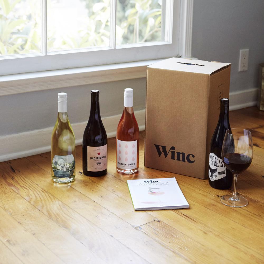 4 Bottles of Wine for $25 | Winc | Wine Club | Sommelier