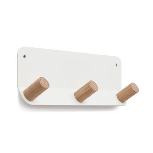 Plane Wall Hook | 3-Hooks | White