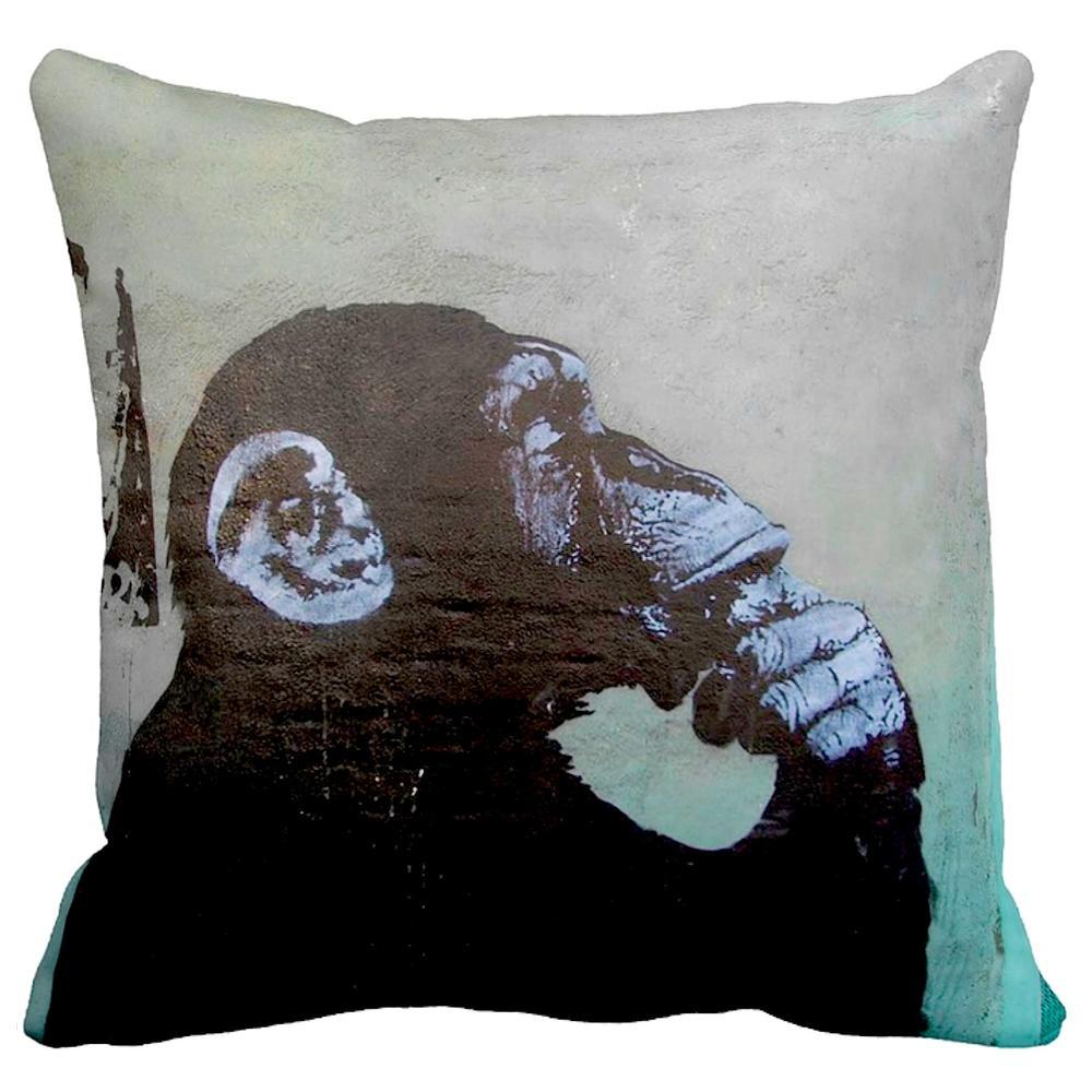 Thinker Monkey | Banksy Art | iLeesh