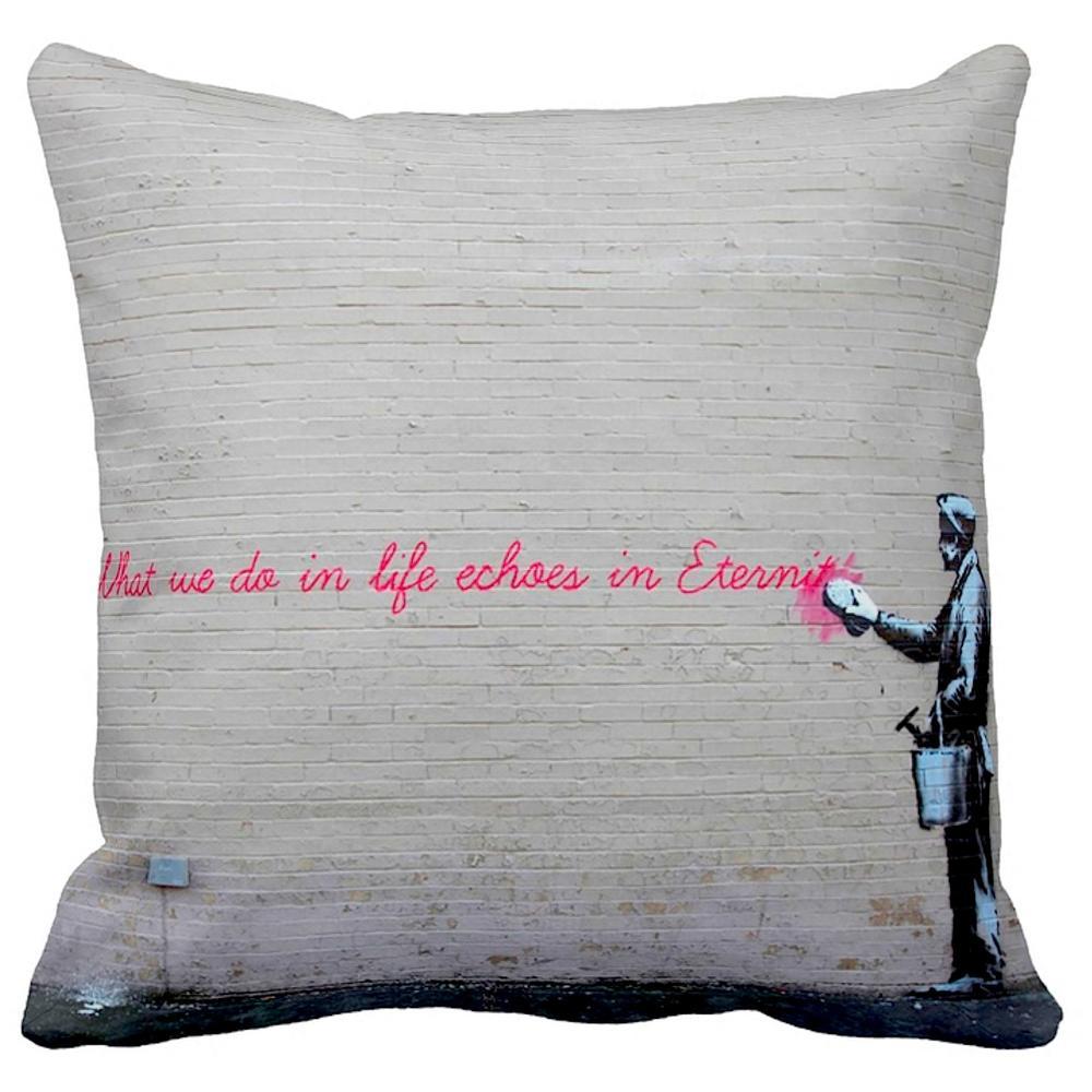 What We Do in Life Echos in Eternity   Banksy   iLeesh