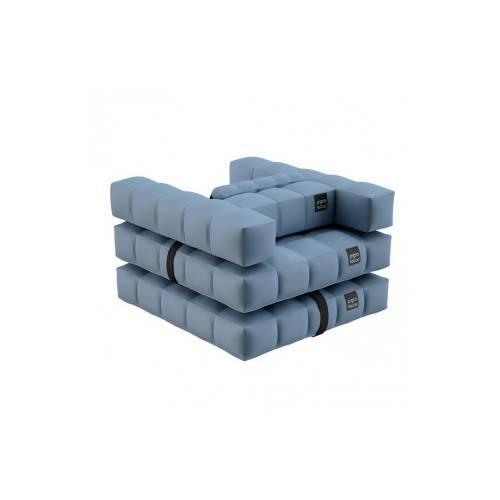 Armchair / Single Lounger Set | Azur Blue | Pigro Felice