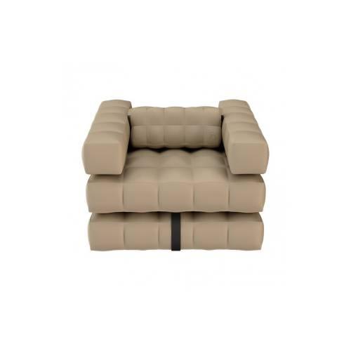 Armchair / Single Lounger Set   Sand   Pigro Felice