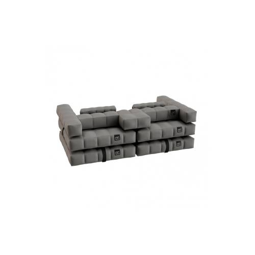 Sofa / Double Lounger Set | Stone Grey | Pigro Felice