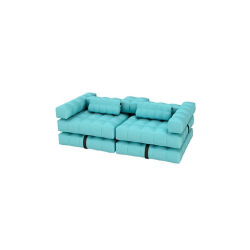 Sofa Set | Aqua Blue
