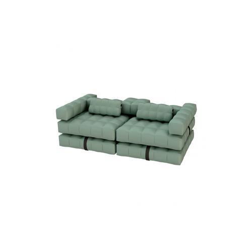 Sofa Set | Olive Green
