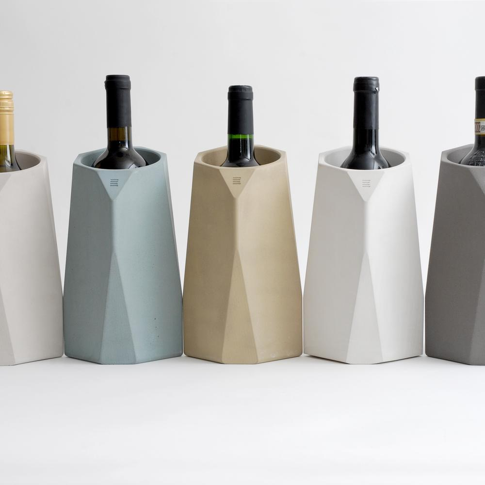 Corvi Concrete Wine Cooler | 5 Color Options | IntoConcrete