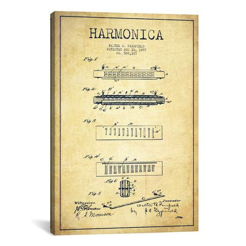 Toilet paper charcoal patent blueprint by aged pixel canvas harmonica vintage patent blueprint malvernweather Image collections