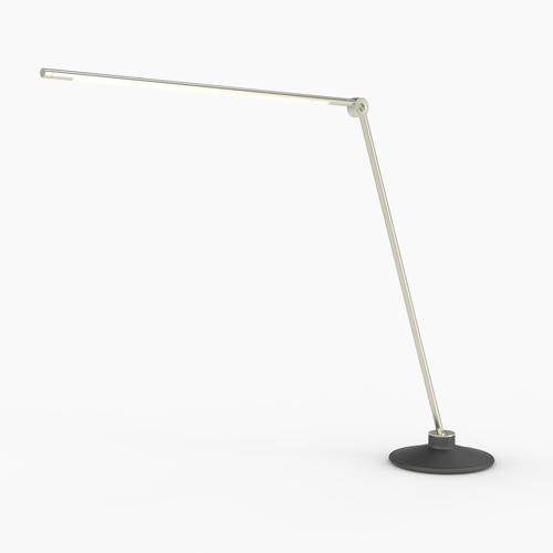 Thin T Desk Lamp | Silver