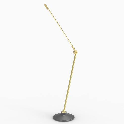 Thin S Desk Lamp   Brass