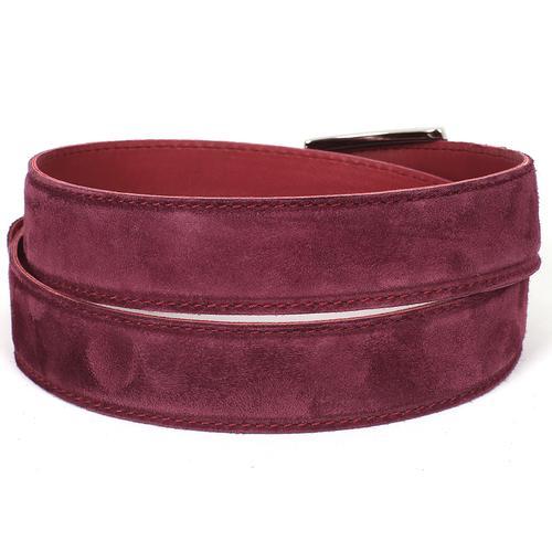 Men's Purple Suede Belt | Purple
