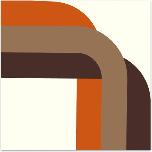 Right Angle // Browns | MidcenturyArt